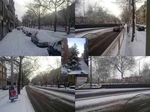 Winter aan de Henegouwerlaan